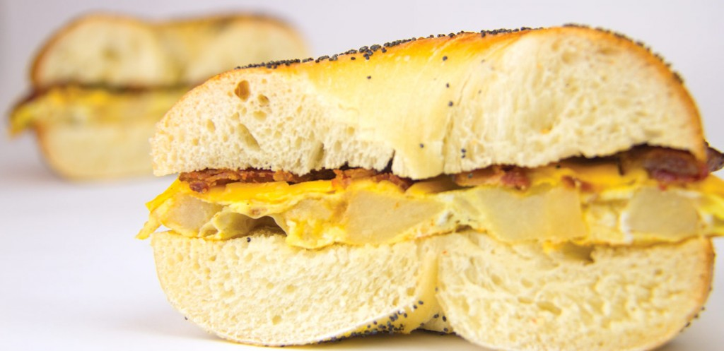 Nyack Hot Bagels Breakfast Sandwiches